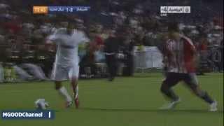 Криштиану Роналду, исполняя пенальти, порвал сетку!