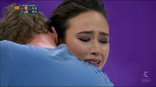 Madison Chock and Evan Bates - Pyeongchang 2018 Olympics - FD