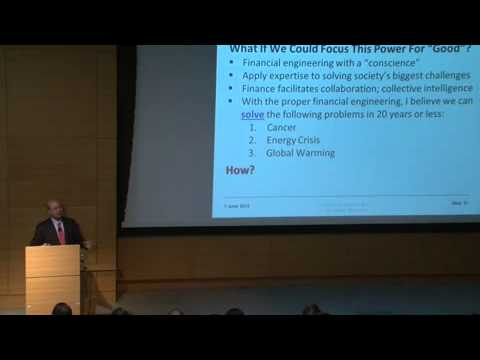 Prof. Lo at MIT: Financial Engineering and Megafund
