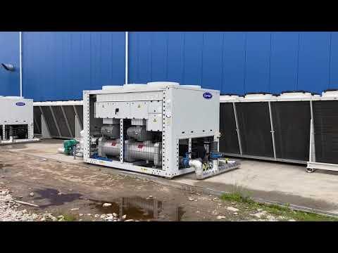 Serwis agregatów wody lodowej Carrier