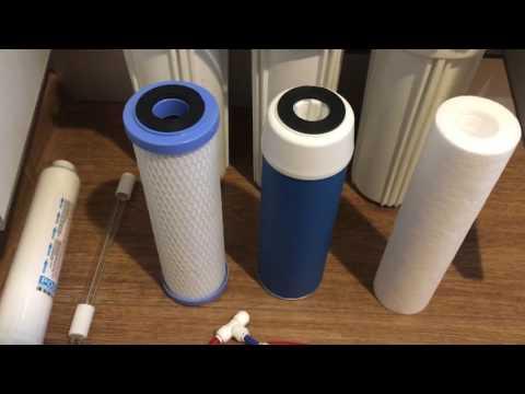Замена картриджей в фильтре для воды. Сервис обратного осмоса