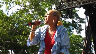 Fonda Rae & Marley Marl- Over Like a Fat Rat @ Central Park, NYC