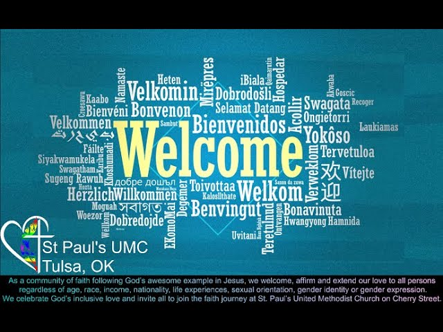 St. Paul's UMC Tulsa Live Stream