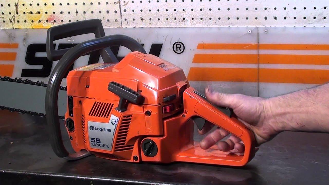 the chainsaw guy shop talk husqvarna 55 chainsaw 5 16. Black Bedroom Furniture Sets. Home Design Ideas