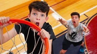 Download $1000 Basketball Challenge vs My 13 Year Old Little Brother! Mp3 and Videos