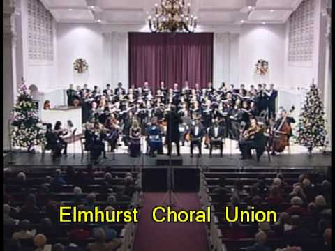 """Handel Messiah """"Lift Up Your Heads"""", Elmhurst Choral Union in concert"""