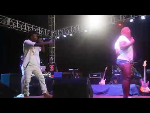 Pitwizzy Perform Live At the National Stadium (Freetown Sierra Leone)  For *Davido Show * 10/21/2017