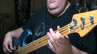 The Doors Riders On The Storm Bass Cover with Bass Notes & Tablature