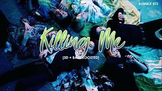 Gambar cover [3D+BASS BOOSTED] iKON (아이콘) - KILLING ME (죽겠다) | bumble.bts