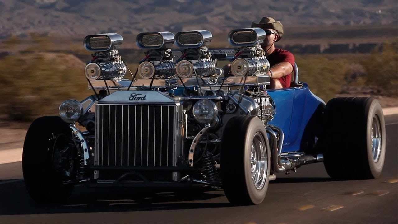 1927 Ford: Double-Trouble -- /BIG MUSCLE