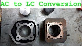 Piaggio Zip AC to LC Conversion