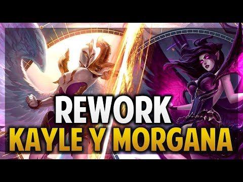 ¡ANÁLISIS DE HABILIDADES DEL REWORK DE KAYLE Y MORGANA! | League of Legends thumbnail