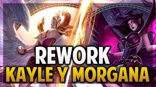 ¡ANÁLISIS DE HABILIDADES DEL REWORK DE KAYLE Y MORGANA! | League of Legends