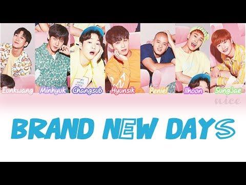 BTOB (비투비) - BRAND NEW DAYS ~どんな未来を~ Lyrics (Color Coded/ENG/ROM/JPN)