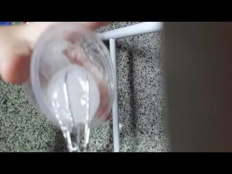 How to make clear slime crunch