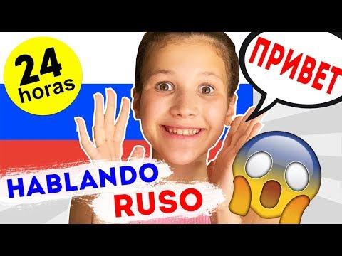 HABLANDO SOLO RUSO POR 24 HORAS Challenge | QUE DESASTRE! | Daniela Golubeva