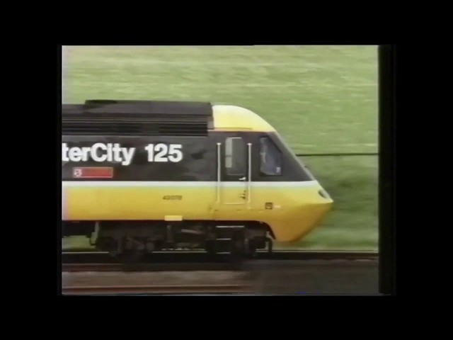 British Rail TV ad -
