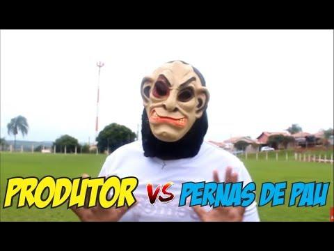 PRODUTOR DESAFIA PERNAS DE PAU FC NA COBRANÇA DE FALTAS