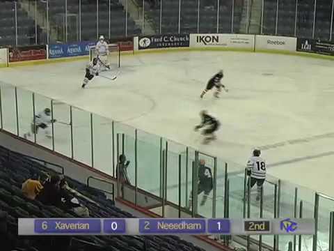 Super 8 Hockey 2009 Xaverian vs Needham