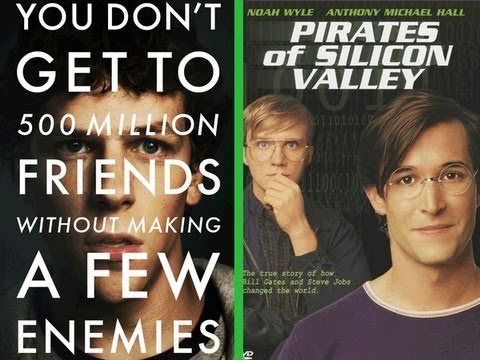 TRAILER MASH UP - SOCIAL PIRATES:  The Social Network vs Pirates of Silicon Valley