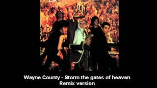 Wayne County - Storm the gates of heaven Remix