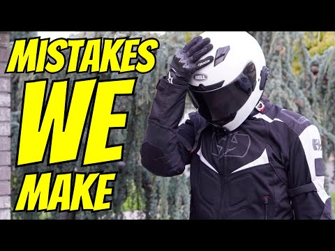 Your First Year Riding - The Mistakes You Will Make - Embarrassing Moments