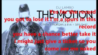 Dj Lambo - The Motion (On-Screen Lyrics)