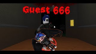 GUEST 666 EN EL ASCENSOR - Roblox - The Scary Elevator