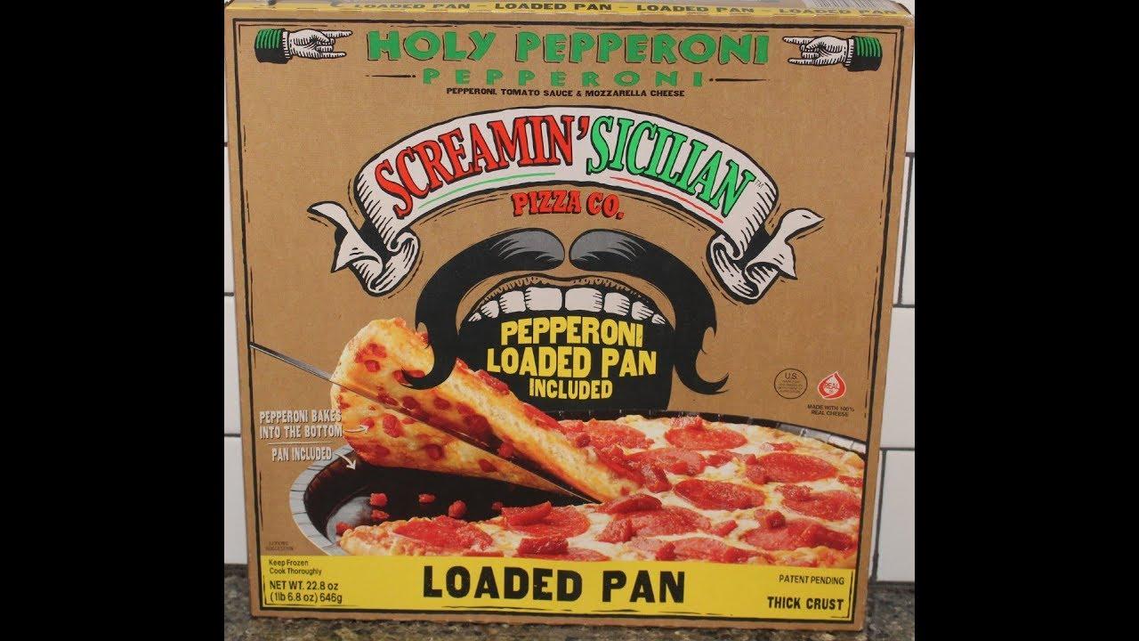 Screamin Sicilian Pizza Co Holy Pepperoni Loaded Pan