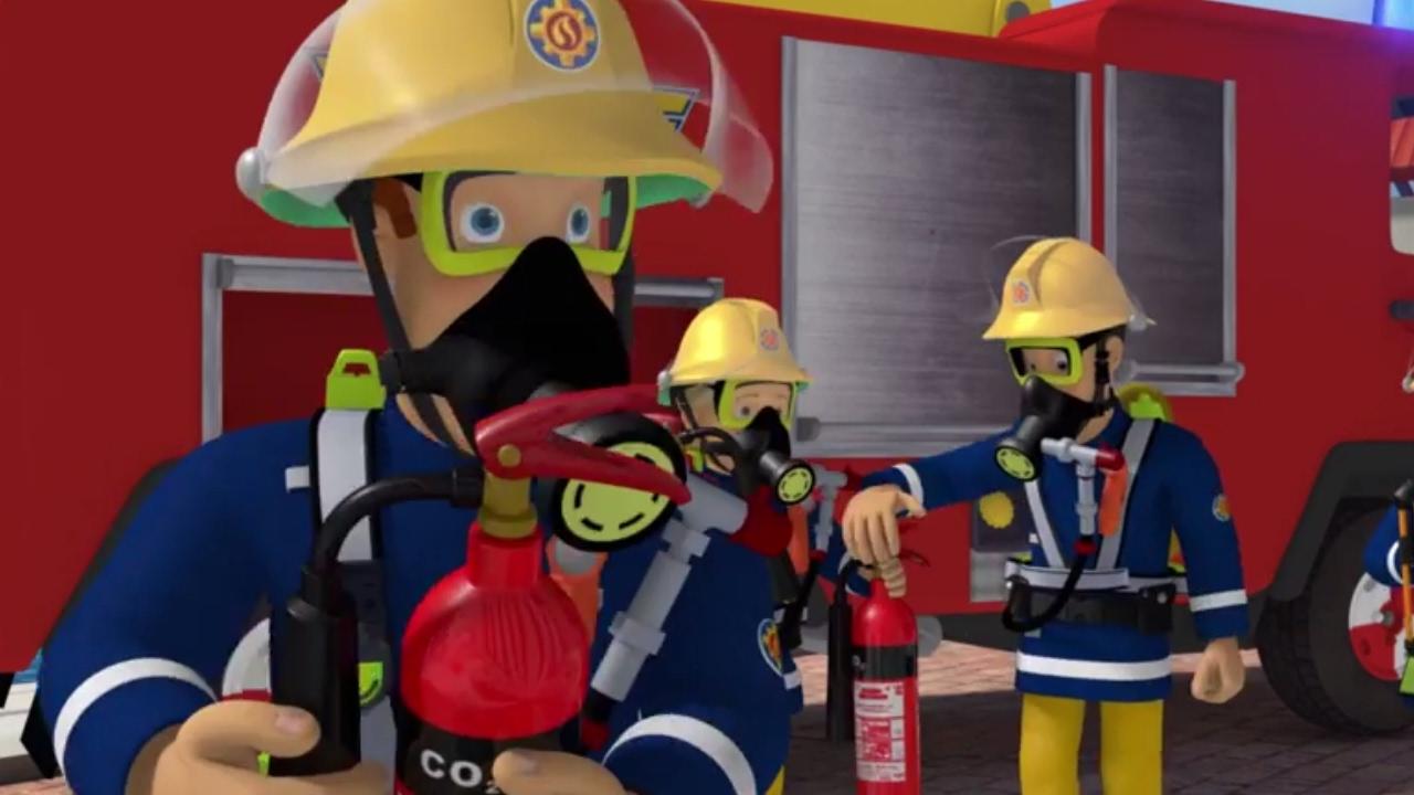 Sam le pompier version francaise dessin anim l - Dessin sam le pompier ...
