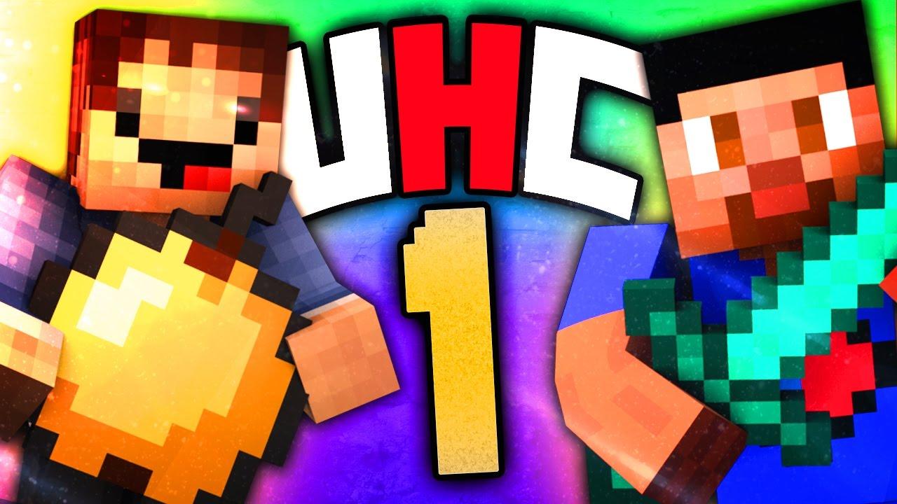 Minecraft UHC #12 (Season 125) - ULTRA HARDCORE with Vikkstar & Woofless