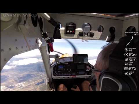 Merlin climb from sea level to 12,000 feet
