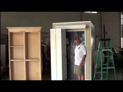 murphy door surface mount bifold install part 2 youtube. Black Bedroom Furniture Sets. Home Design Ideas
