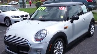 2014 Mini Cooper Walkaround, Start up, Tour and Overview