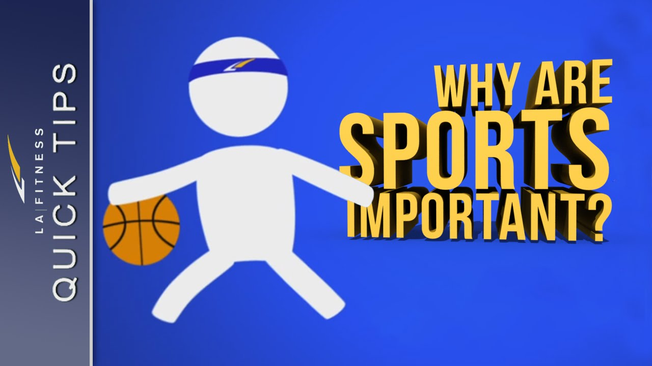 why sports are important to human For example, a study on sports involvement among children and young people in namibia has shown that those who participated in sport and physical activity were more likely to pass the grade 10 examinations.