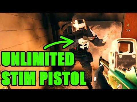 INFINITE STIM PISTOL - Rainbow Six Siege Funny and Epic moments