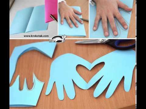 Como hacer manos con corazon youtube - Como hacer un corazon con fotos ...