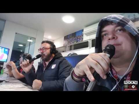 Santa Fe 3 - Sporting Cristal 0 . Momentos El Rock And Gol en Vivo
