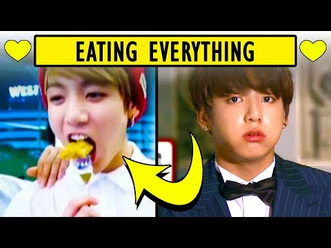 BTS Jungkook Eats Everything  Bangtan Boys