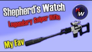 Destiny 2: The Shepherd's Watch- My Favorite Sniper Rifle