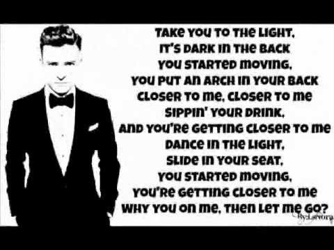 Justin Timberlake - Don't Hold the Wall ( Lyrics on Screen ) 2013 ( The 20 / 20 Experience )