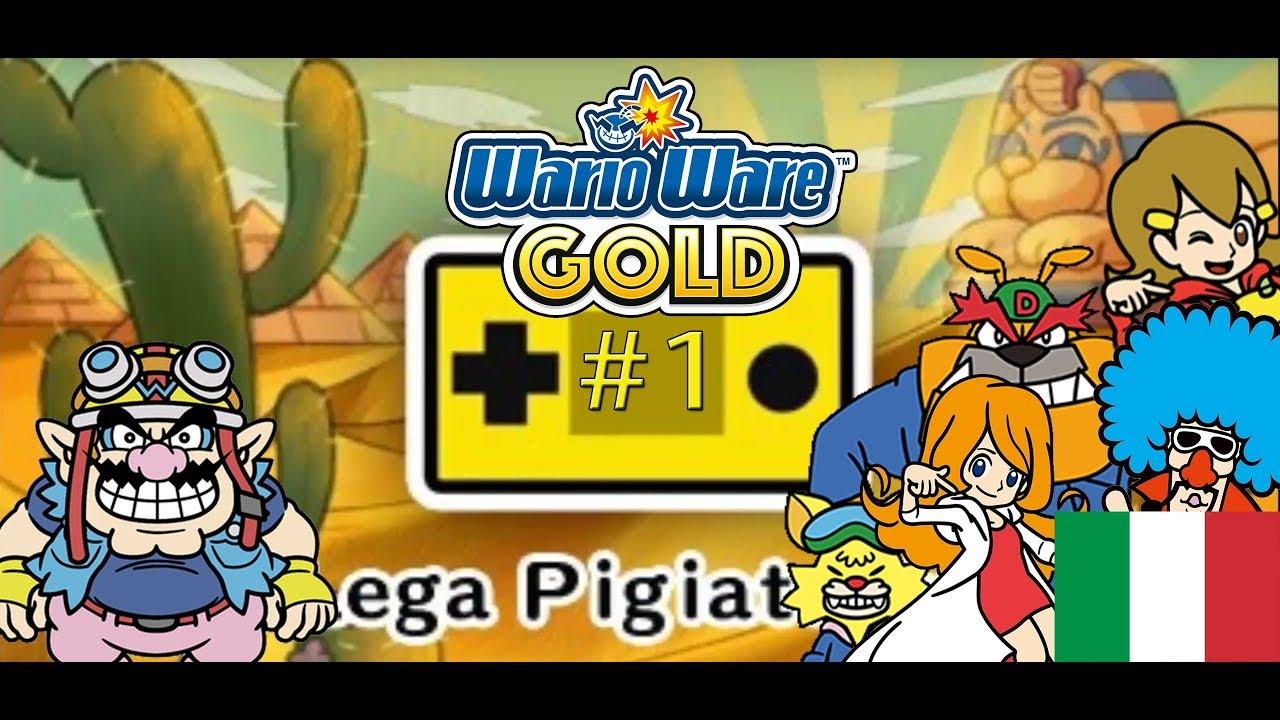 WarioWare Gold ITA #1 - Una raccolta tutta in italiano