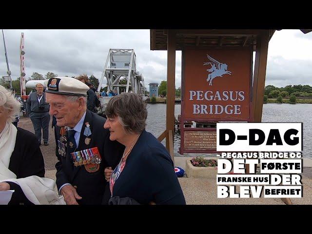 Pegasus bridge, D-dag Normandiet