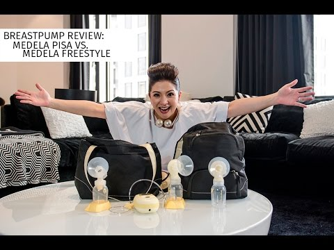 BREASTPUMP REVIEW:  MEDELA PISA vs. MEDELA  FREESTYLE | Cat Arambulo-Antonio