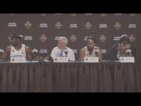 UNC Men's Basketball: National Championship Postgame PC