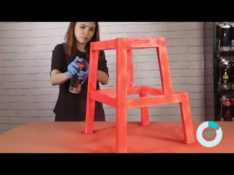 איך לצבוע גרם מדרגות עץ עם MTN PRO