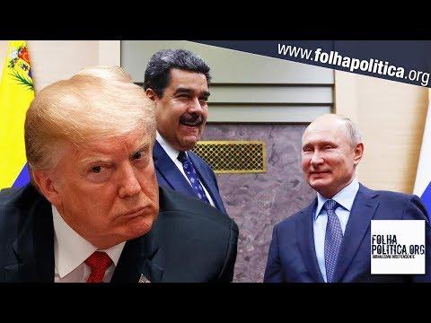 EUA reage após Venezuela e Rússia anunciarem exercícios militares conjuntos