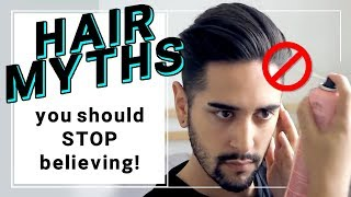 Hair Myths You Should Stop Believing! Hair Products And Hair Loss / Heat Damage + More ✖ James Welsh