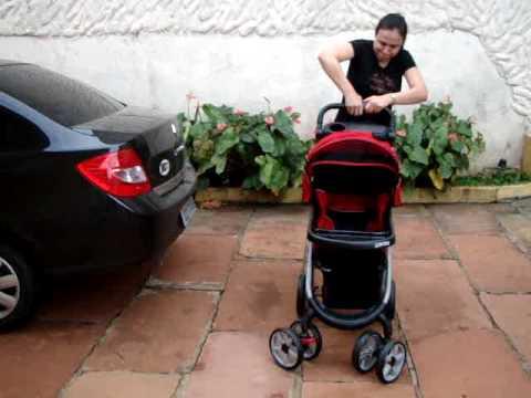 Carrinho de Bebê Galzerano Pegasus - Verde Musgo ...