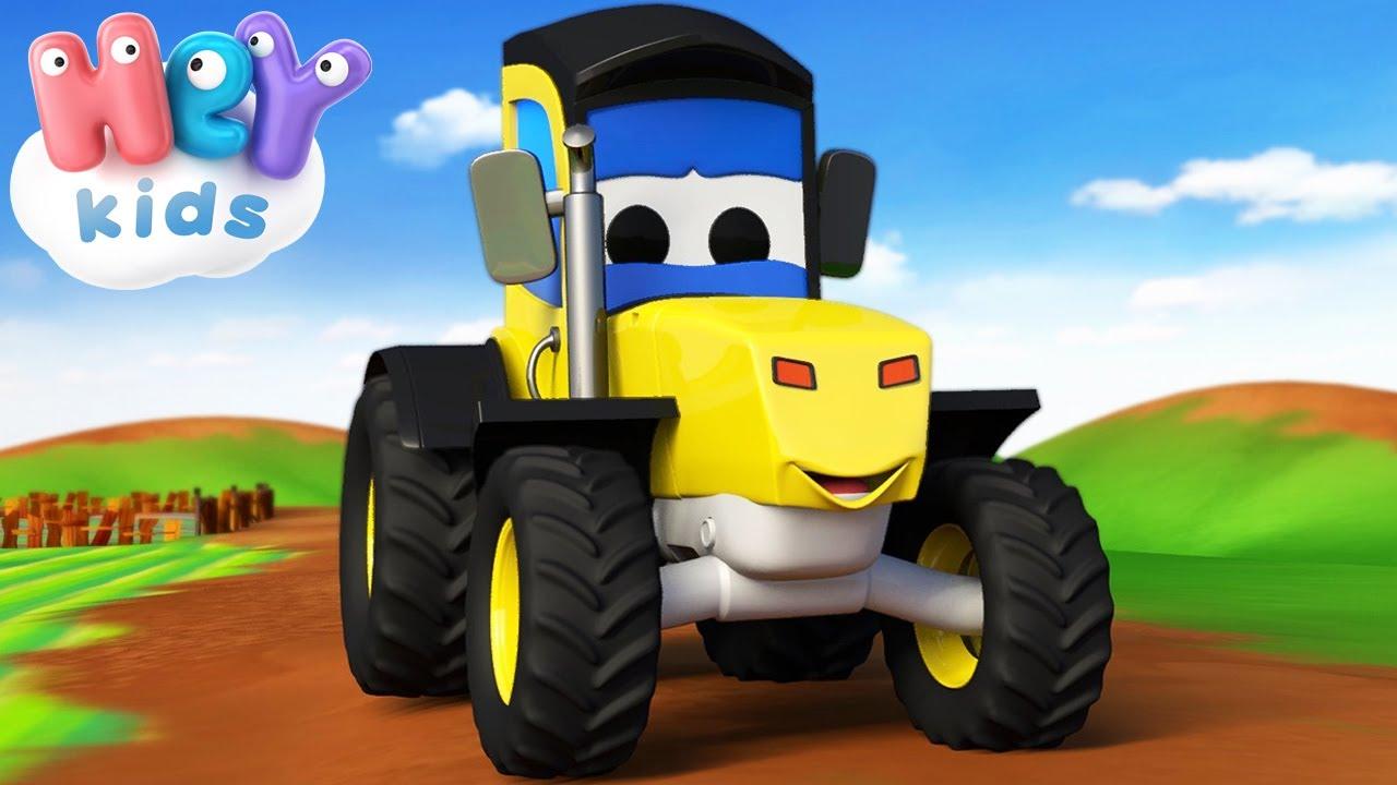 Traktor 🚜 Barnesanger på Norsk - HeyKids